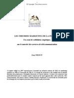 1997, J. Frisou, Les Théories Marketing De La Fidelité, Un essai de validation empirique sur le marchés des télécoms