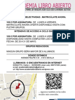 borrador folleto SELECTIVIDAD