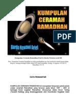 Kumpulan Ceramah Ramadhan Prof Dr Barda Nawawi Arief SH