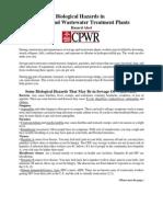 Bio Hazard in WWTP