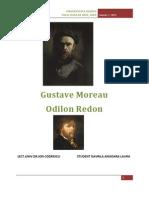 Gustave Moreau Si Odilon Redon