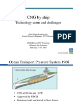 CNG by ship