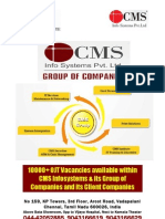 CMS Vadapalani Placements List