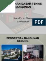 Pendidikan Dasar Teknik Bangunan