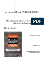 La Escuela Inteligente. D. Perkins