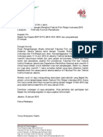 Surat Untuk Sekolah FFPI 2010