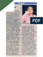 [2013-05-07] Sandrine Viglino fait le show