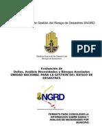 EDAN Formato Municipal 2012 UNGRD
