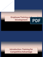 13768121 Introduction to Employee Training and Development PPT 1