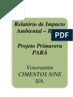 RIMA Projeto Primavera Para Votorantim
