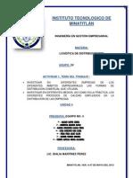 Forma de distribución comercial WALMART