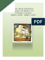 Basic Skills Report Salumeh Eslamieh