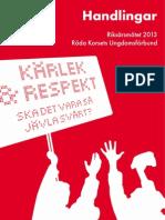 Handlingarna RÅM 2013 - korrigerade
