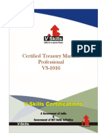 Certified Treasury Markets Professional