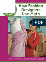How Fashion Designers Use Math