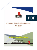 Certified Tally 9.0 Professional