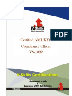 Certified AML- KYC Compliance Officer