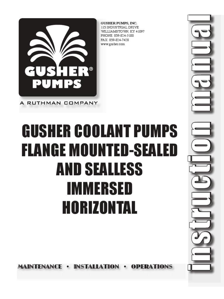 Gusher Pump Wiring Diagram Library Coolant Mio Bearing Mechanical