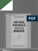 Dan Berindei,Cultura națională română modernă