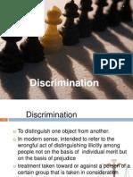 8 Discrimination