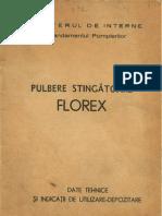 Pulbere stingatoare FLOREX