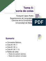48312027 Tema5teoria de Colas
