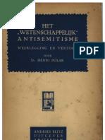 1933_Polak, Henri_Het Wetenschappelijk Antisemitisme