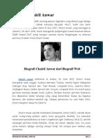 Biografi Chairil Anwar,Tuga DALILA