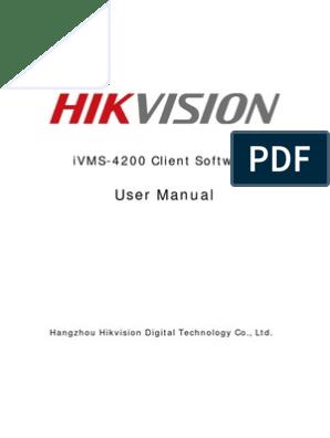 iVMS-4200 User Manual   Installation (Computer Programs