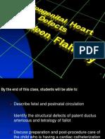 1301 TETRALOGY FALLOT Congenital Heart Defects
