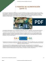 TUTORIAL DE FUENTES DE ALIMENTACIÓN (parte 1)