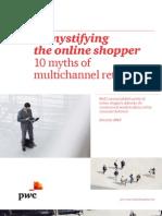 PWC de Online Consument Koopt Niet Online Multichannel Retailing. Price Waterhouse Cooper