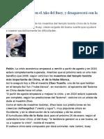 Predicciones 2009 Tao (Chino)