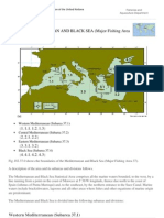 FAO Fisheries &Amp; Aquaculture - FAO Major Fishing Areas - MEDITERRANEAN and BLACK SEA (Major Fishing Area 37)