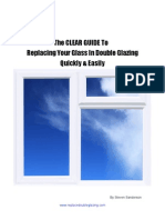 Double Glazing Manual