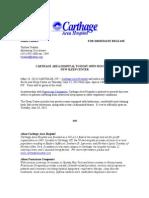 Sleep Center Open House Press Release