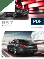 Audi RS 7 Flyer (Germany, 2013)