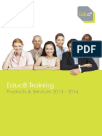 Products and Services 2013-2014