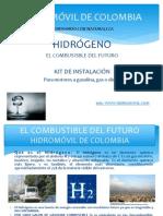 Energia Pilas c Hidrogeno El Combustible Del Futuro