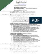 craig esquivel - professional resume
