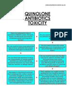 Side-effects Quinolone Antibiotics Toxicity. July 2005QUINOLONE ANTIBIOTICS TOXICITY. July 2005