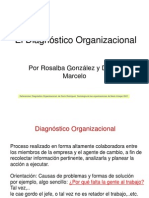 Filminas 2 El Diagnostico Organizacional