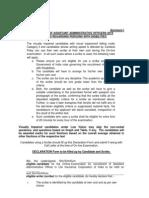 Annexure I-scribe Declaration Aao-2013