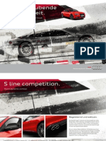 Audi A5 S line competition Catalogue (Germany, 2013)
