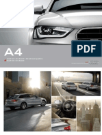 Audi A4 & S4 Catalogue (Germany, 2013)