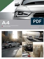 Audi A4 & S4 Catalogue (Germany, 2013)