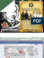 Knights of RizalKnights of Rizal, Mel Dizon, Consul Buddy Cunanan