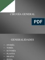 CIRUGÍA GENERAL 1 VUELTA