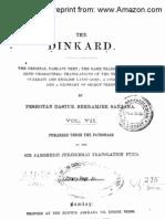 Dinkard Volume 7 by Sanjana