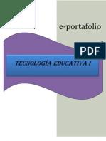 Eportafolio de Tecnologia Educativa